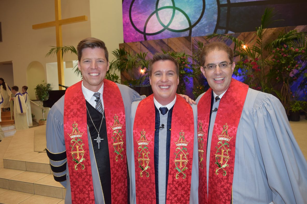 Bobby Schuller, Chad Blake and Russ Jacobson Ordination and Installation Service at Shepherd's Grove