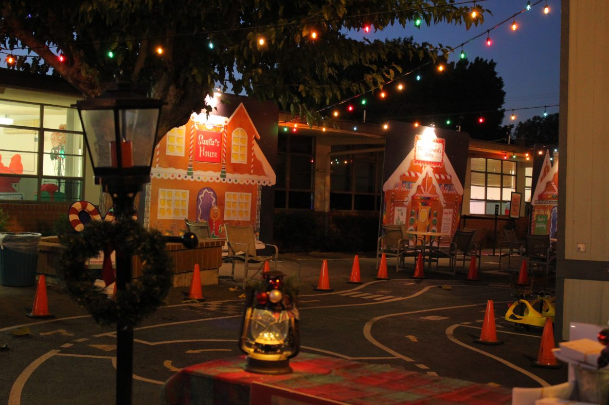 Shepherd's Grove Christmas Village during Season of Rejoice